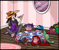 [PTS Event] Tea-Party Time by Ambaaargh