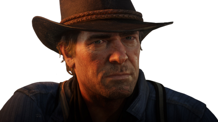 Red Dead Redemption 2 Morgan Render PNG by GamingDeadTv