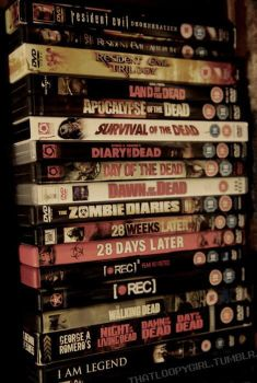 My Horror Movie Collection by Naruto1802