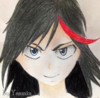 Fanart Matoi Ryuko from Kill la kill by ByYasmin