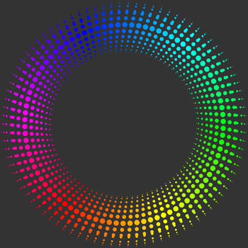 Fractal 006: Rainbow circle by hxseven