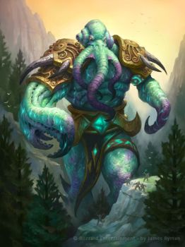 Hearthstone - Soggoth the Slitherer by namesjames