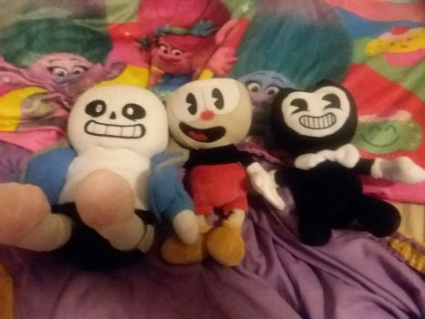 My Indie Game Plushie Collection So Far by SonicPals101