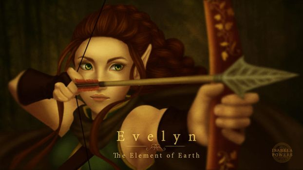Evelyn The Element of Earth by IsabelaPowers