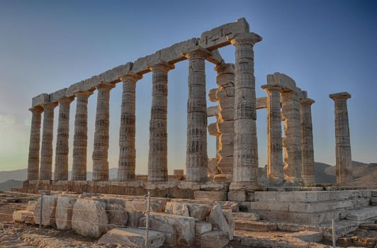 Temple of Poseidon by ozzy2006gr