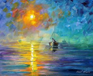 Resonance by Leonid Afremov by Leonidafremov