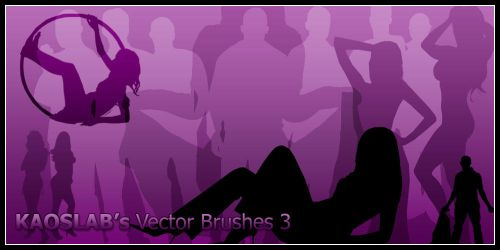 Silhouette Brushes 3 by Designjunkee