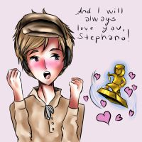 and i will always love you, stephano by varjolintu