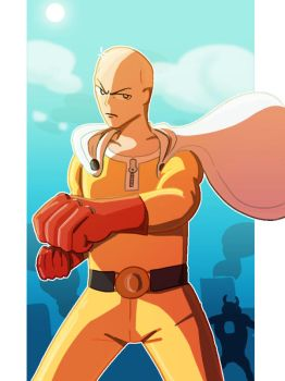 One punch man by Giant-cheeseburger