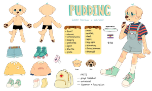 Old Pudding Reference Sheet by Luxjii