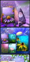 Fairy Flower Backgrounds by cosmosue