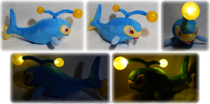 Light-up Lanturn Plush by Diffeomorphism