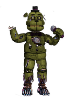 Springtime Freddy by shadowNightmare13