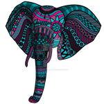 Elephant by CharlotteHewins