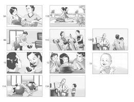 Storyboards - Health Care 2 by vitorgorino