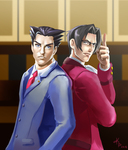 Courtroom Rivals by kimmipen