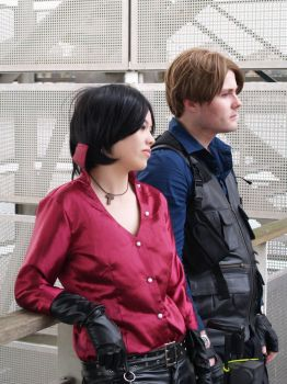Ada and Leon RE6 by EscapedAngel