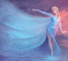 The Cold Never Bothered Me Anyway by HelenKei