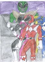 MMPR will never die by Foowd