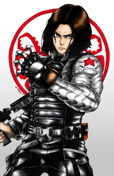 Winter Soldier by tarotski