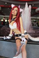 League of Legends - Kitty Cat Katarina by Kyubeiby