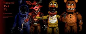 FNAF 2 Withered Pack V2 [FULL DOWNLOAD][FIXED] by CoolioArt