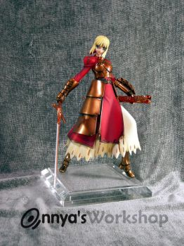 Saber front with armor by annya12345