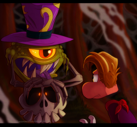 Rayman - Guardian of the Cave by Turquoisephoenix