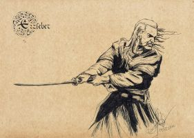 The taste of Witcher's blade by erzsebet-beast