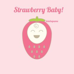 Vector: Strawberry Baby! by KimbuPamu