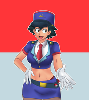 Officer Ash Tg Colored by Rezuban