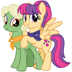 Aunt Holiday and Auntie Lofty #2 by cheezedoodle96