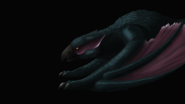 Nargacuga by SquishyFudge