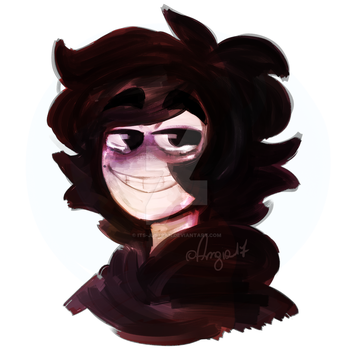 Damn I really love painty portraits by Slice-of-Eyebrows