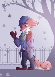 Nick in Autumn by 8-bitpunch
