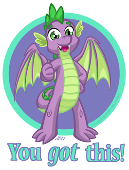 You Got This! Spike by TexasUberAlles
