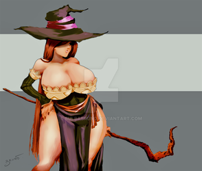 (Dragon's Crown) Sorcerers' series 5 by BulbaBruno
