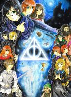 Harry Potter: The Deathly Hallows by MaoMint