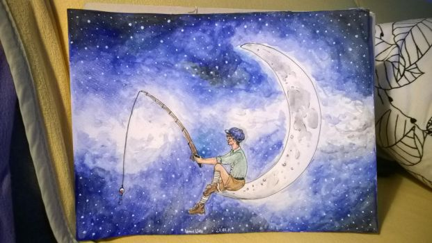 the boy in the moon by Leo1999