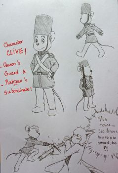 The returns of the Great Cat and Mouse : Clive !! by doraemonbasil
