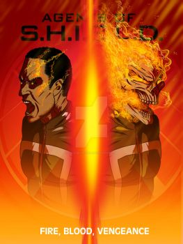 AOS Ghost Rider poster 28 09 2016 by LucasBoltagon