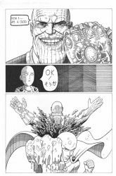 One Punch Man vs Thanos Mini Comic by AmirKameron