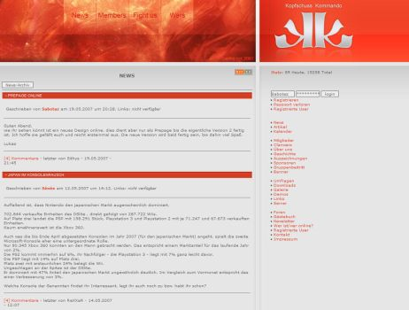 Prepage for KSK Clan by SabotazZ