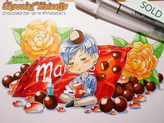 Chocolate Bar Serie :: MALTESERS :: by CloverDoe