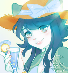 summer cocktails by catlinq