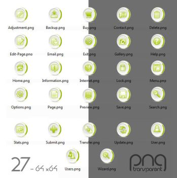 Free 27 Green icon set by isfahangraphic
