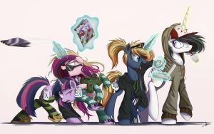 Incognito Alicorns by NCMares