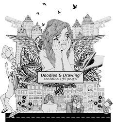 + Doodles and Drawing |Png's||195| by natieditions00
