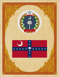 Seal and Flag of South Carolina by ThaDrummer
