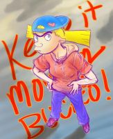 A Random Helga Thing-- 'Keep it moving, Bucko!' by genaminna